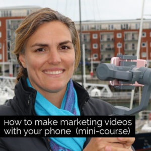 How to make marketing videos with your phone mini course