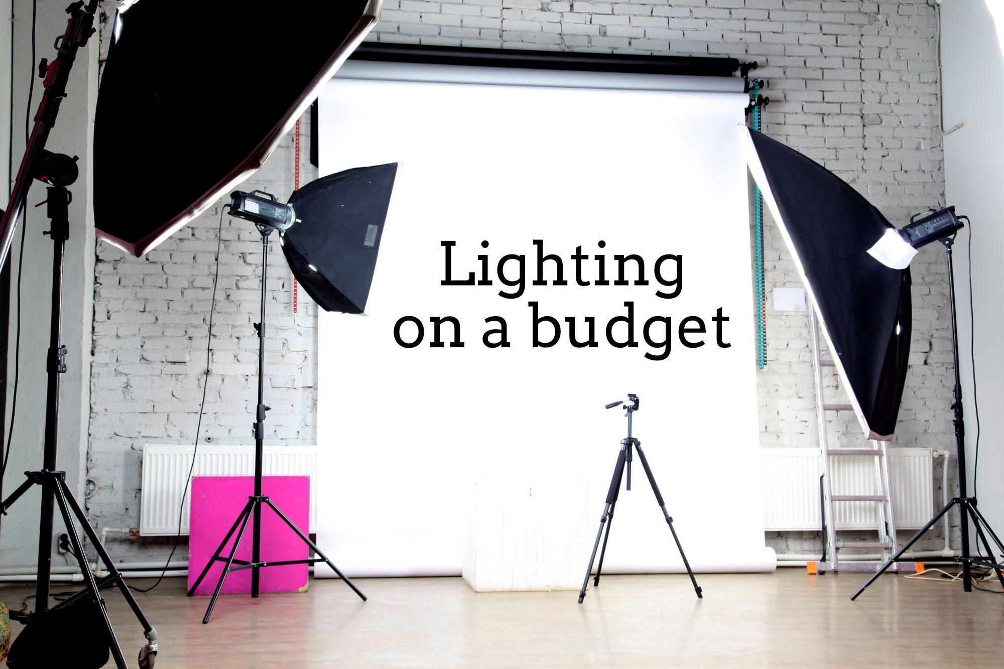 Budget studio lighting