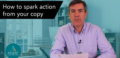 video how to create action from marketing copy